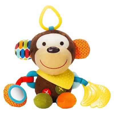 Skip Hop Bandana Buddies Stroller Toy, Monkey