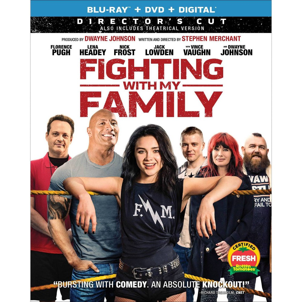 Fighting with My Family (Blu-Ray + DVD + Digital)