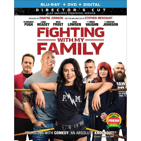 Fighting with My Family (Blu-Ray + DVD + Digital) - image 1 of 1