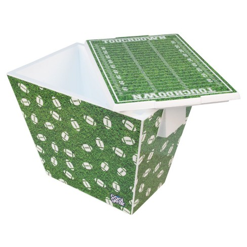 Cool Gear Football Graphic Cooler - 24 Can - image 1 of 9