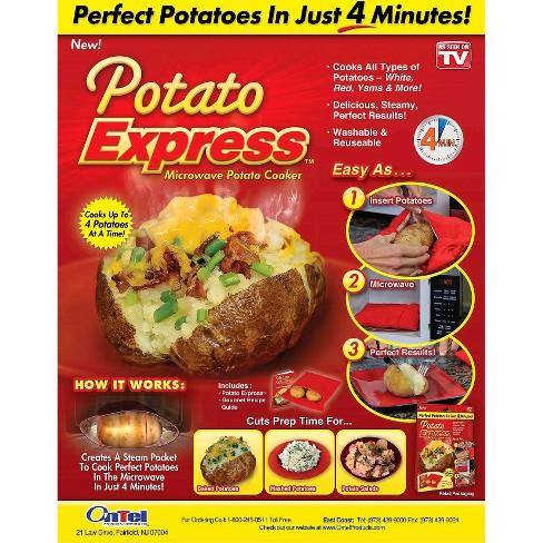 As Seen On Tv Potato Express Microwave Potato Cooker Target