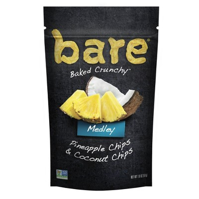 Bare Pineapple & Coconut Chips Medley - 1.8oz
