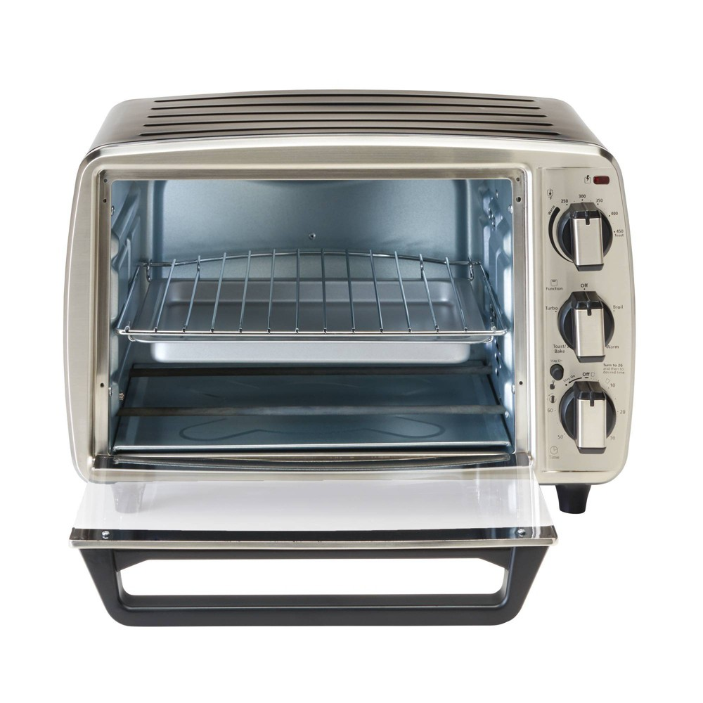 Image of Oster 6-Slice Convection Toaster Oven - Stainless Steel - TSSTTV0002