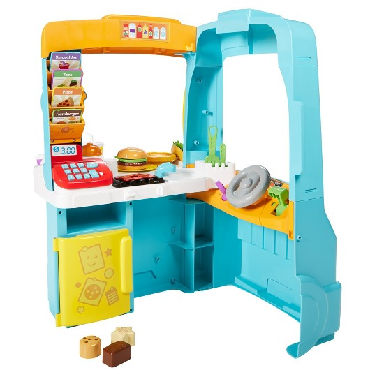 Fisher-Price Laugh and Learn Servin' Up Fun Food Truck image number null