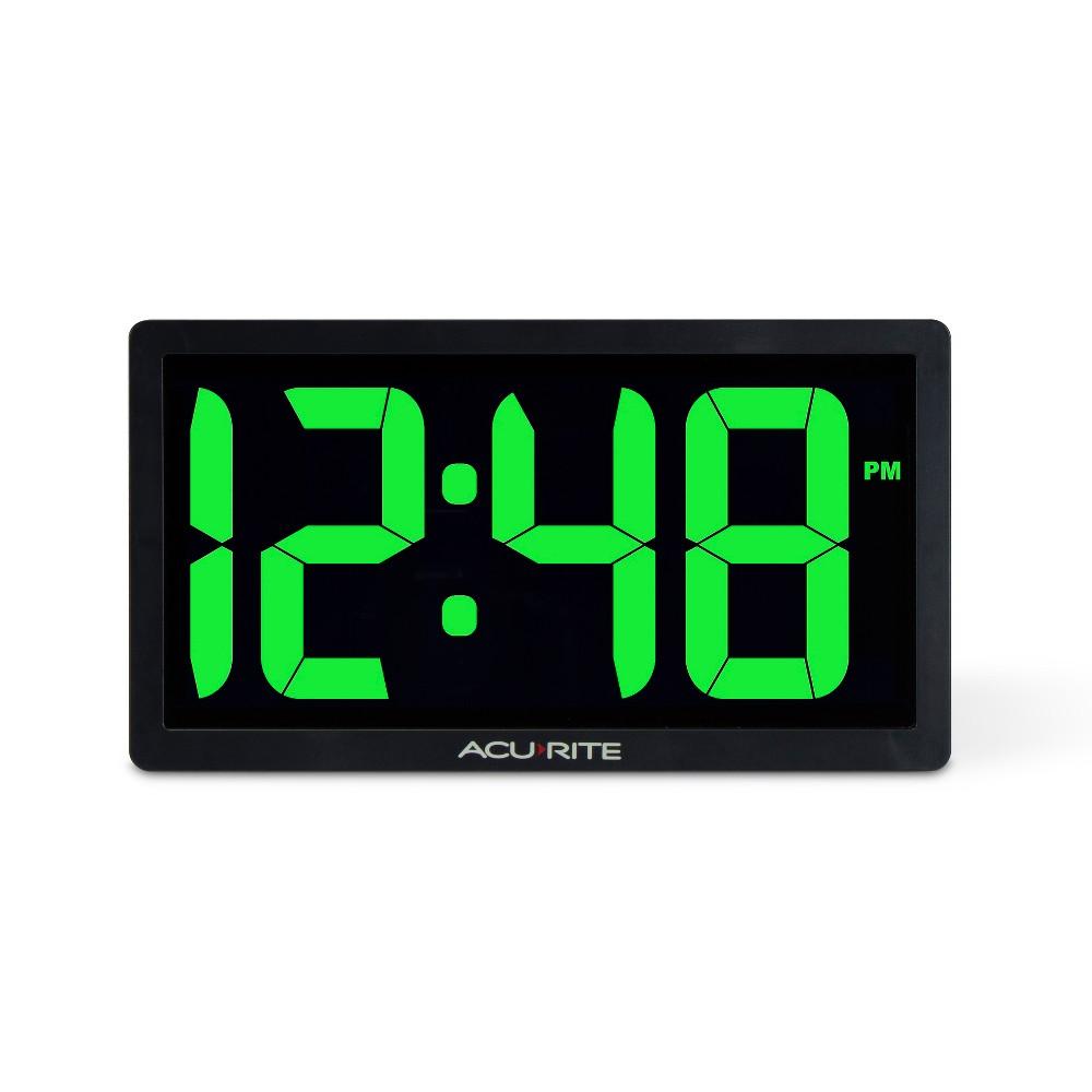 Image of 10 Digital Led Clock Green - AcuRite