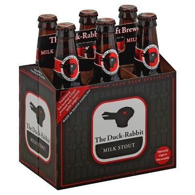 The Duck-Rabbit Milk Stout Beer - 6pk/12 fl oz Bottles