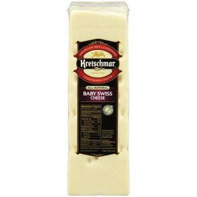 Kretschmar Baby Swiss Cheese - price per lb