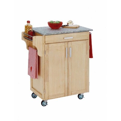 Kitchen Carts And Islands Natural Brown Base - Home Styles