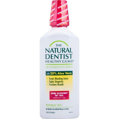 The Natural Dentist Healthy Gums Antigingivitis Rinse Peppermint Twist - 16.9floz - image 1 of 2