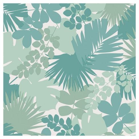 Devine Color Jungle Peel & Stick Wallpaper - Horizon - image 1 of 4