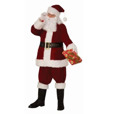 Rubies Mens Premium Professional Santa Suit