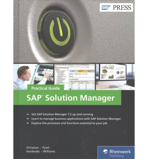 SAP Solution Manager : Practical Guide -  (Hardcover) - image 1 of 1