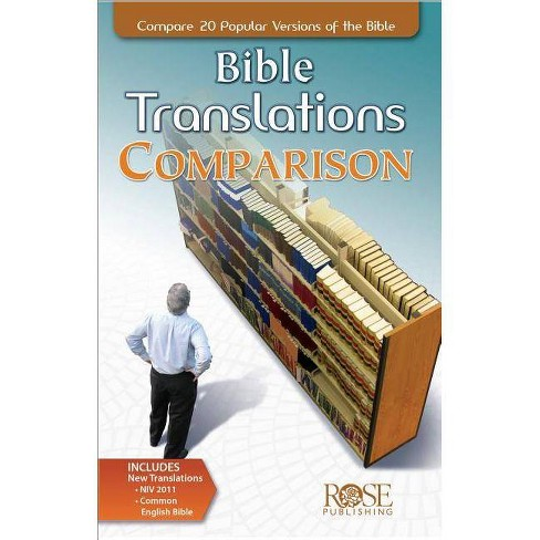 Bible Translations Comparison Pamphlet - (Compare 20 Bible Translations) by  Rose Publishing (Paperback) - image 1 of 1