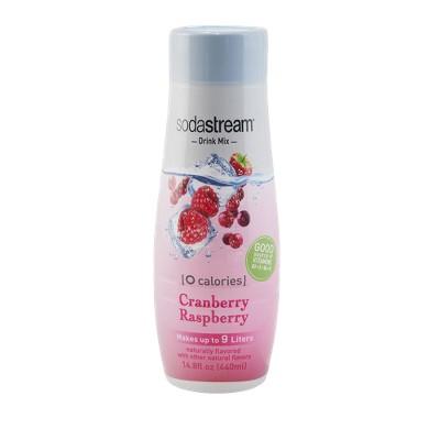 SodaStream Cranberry/Raspberry Sodamix - 440ml
