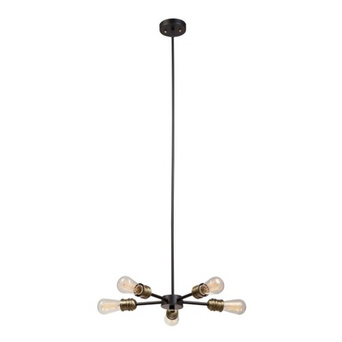 """Globe Electric 65834 Beaugard 5 Light 15-3/4"""" Wide Chandelier - image 1 of 4"""