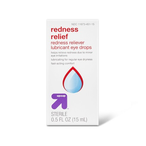 Lubricant & Redness Reliever Eye Drops - 0.5oz - Up&Up™ - image 1 of 1