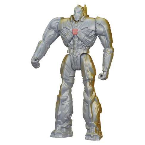 Transformers Age of Extinction Silver Knight Optimus Prime 12-Inch Figure - image 1 of 2