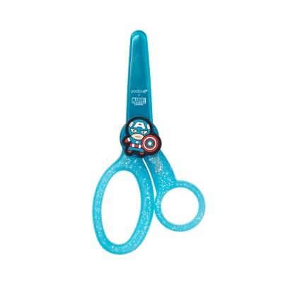 Kids' Scissors with Cover Kawaii Captain America - Yoobi™