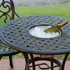 Angeles 3pc Cast Aluminum Bistro Set - Copper - Christopher Knight Home - image 3 of 4