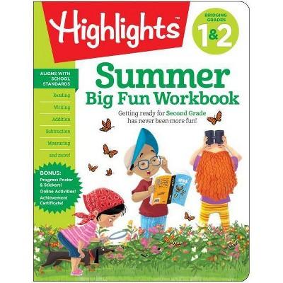 Summer Big Fun Workbook Bridging Grades 1 & 2 : Bridging Grades 1 & 2 -  (Paperback)