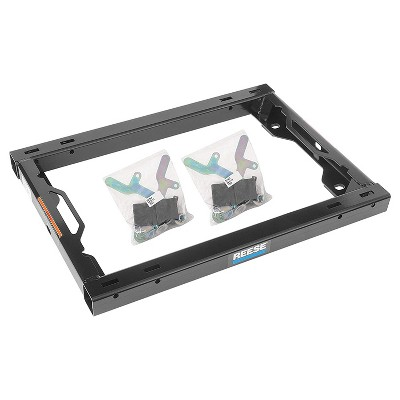 REESE 30156 Fifth Wheel Trailer Hitch Adapter Kit with 20,000 Pound Weight Capacity, 5,000 Pound Pin Capacity, and Built In Handles for Under Bed Rail