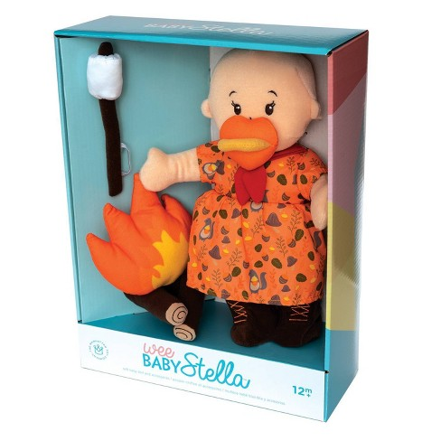 Manhattan Toy Wee Baby Stella Dolls Deluxe - Camp Acorn Campfire - image 1 of 2