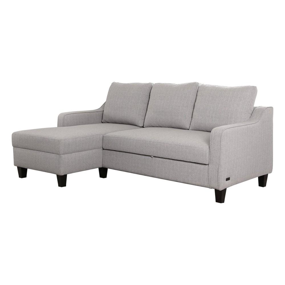 Rudolph Convertible Sofa Bed Gray - Abbyson Living
