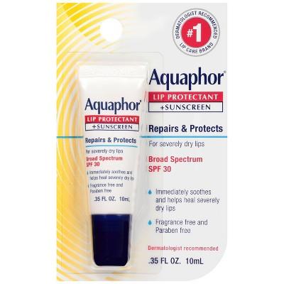 Aquaphor Lip Protectant + Sunscreen Lip Balm - SPF 30 - 0.35 fl oz