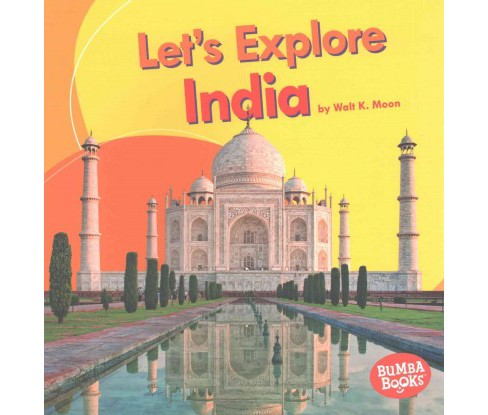 Let's Explore India (Paperback) (Walt K. Moon) - image 1 of 1