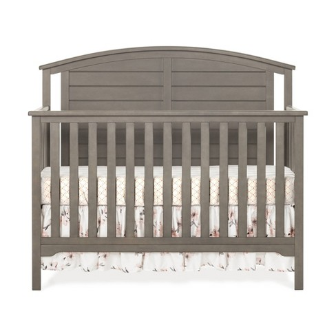 Forever Eclectic Hampton Curve Top 4-in-1 Convertible Crib - image 1 of 4