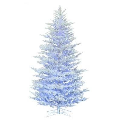 Vickerman Flocked Cedar Pine Artificial Christmas Tree