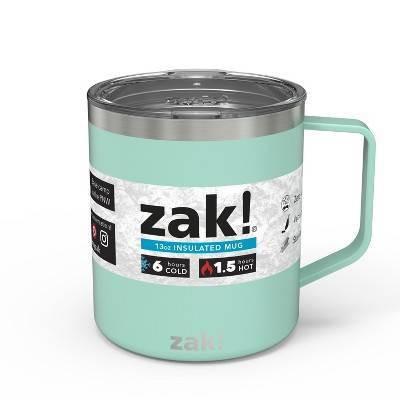 Zak Designs Designs 13oz DW SS Camp Mug - Mint Green