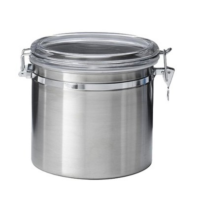 Jumbo Stainless Steel Kitchen Canister