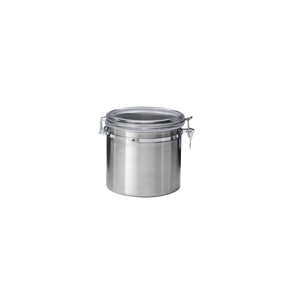 Image of Jumbo Stainless Steel Kitchen Canister, Silver