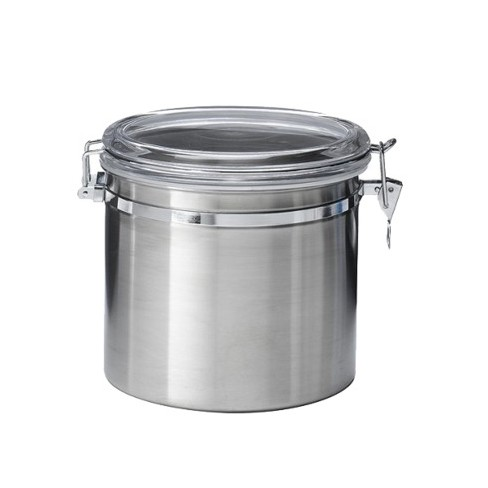 Astonishing Jumbo Stainless Steel Kitchen Canister Best Image Libraries Thycampuscom