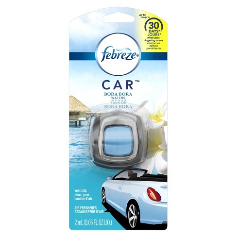 Febreze Bora Bora Waters Car Air Freshener - 1ct - 0.06oz - image 1 of 5