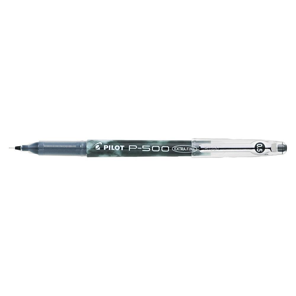 Pilot P 500 Precise Gel Ink Roller Ball Stick Pen Black Ink 5mm Dozen