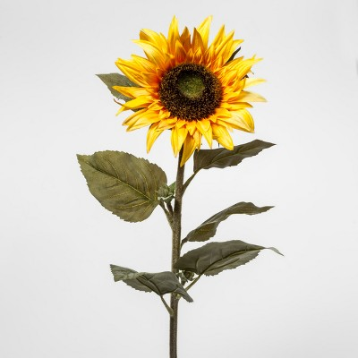 Faux Sunflower Stem - Threshold™