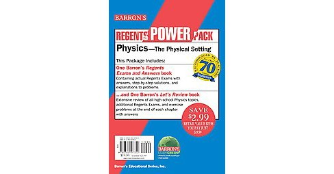 Barron's Regents Power Pack : Physics, The Physical Setting (Revised) (Paperback) (Miriam A. Lazar & - image 1 of 1