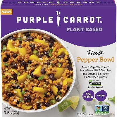 Purple Carrot Vegan Frozen Fiesta Pepper Bowl - 10.75oz