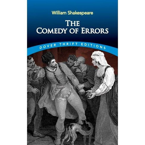 The Comedy of Errors - (Dover Thrift Editions) by  William Shakespeare (Paperback) - image 1 of 1
