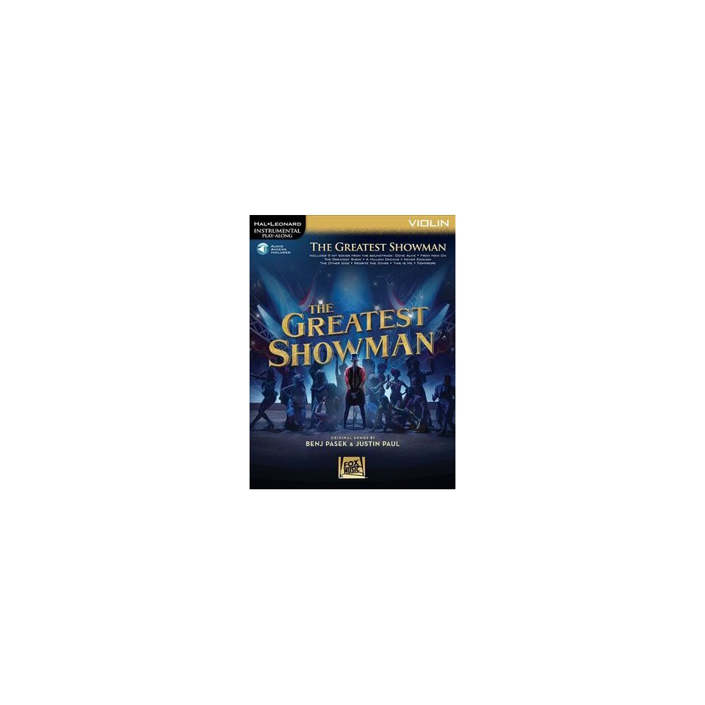 Greatest Showman : Violin - Pap/Psc (Hal Leonard Instrumental Play-Along) (Paperback)