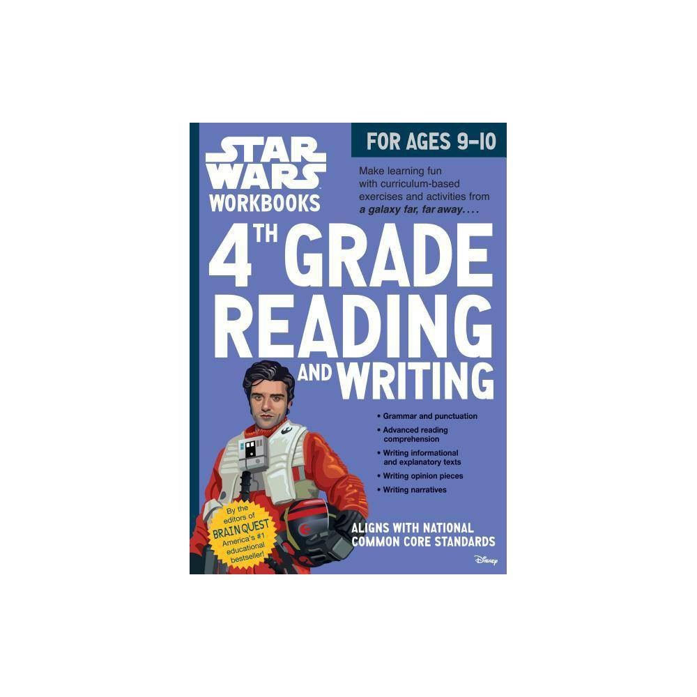 Star Wars Workbook 4th Grade Reading And Writing Star Wars Workbooks By Workman Publishing Bridget Heos Paperback
