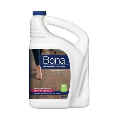 Bona Hardwood Floor Cleaner Refill - 96 Fl Oz
