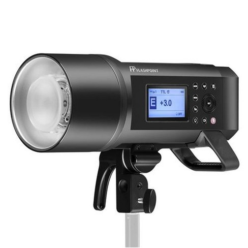 Flashpoint XPLOR 600 HSS Battery-Powered Monolight with Built-in R2 2.4GHz Radio Remote System Bowens Mount