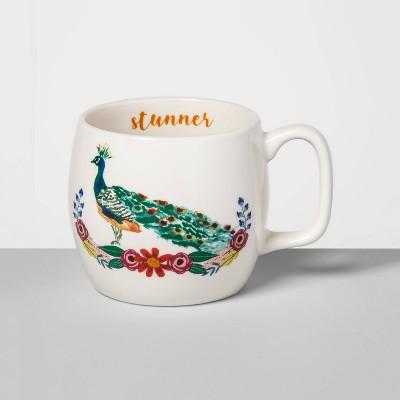 17oz Stoneware Stunner Mug Cream - Opalhouse™