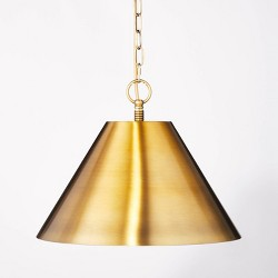 Small Metal Pendant Ceiling Light - Threshold™ designed with Studio McGee