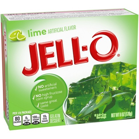 Jell-O Lime Gelatin - 6oz - image 1 of 4