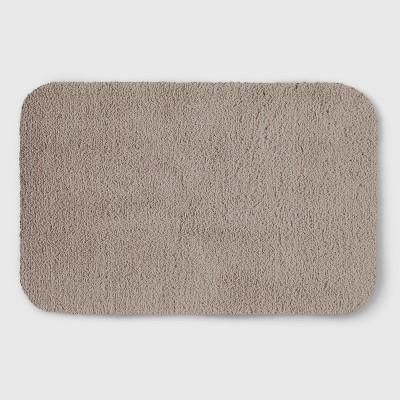 Perfectly Soft Solid Shag Bath Rug Sandalwood Tan - Opalhouse™