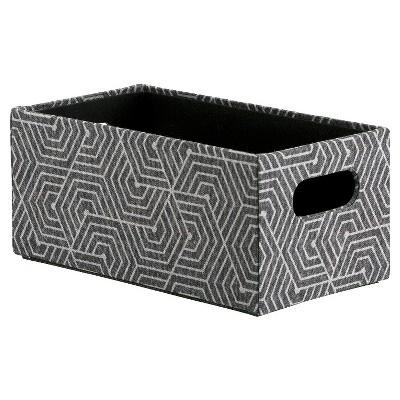 CD/DVD Storage Box - Gray and Black - Room Essentials™